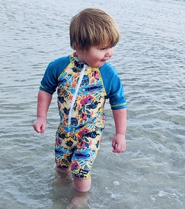 TicTasTogs Sunsuit 'Aussie Animalia'