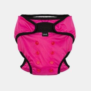 Swim Nappy + Wet Bag - Pink