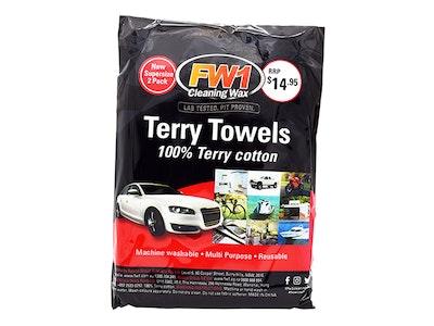 2PK Terry Towel