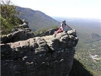 Out  there  in Victorian Grampians
