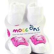 Sock Ons MOCC ONS Fuchsia Sneaker 6-12