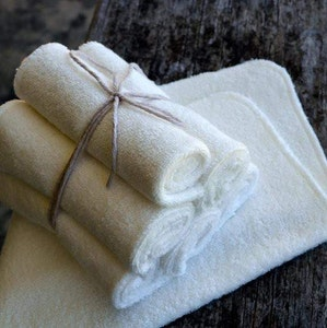 On Chic Baby Clothes Reusable Bamboo Wipes - 3 Pack