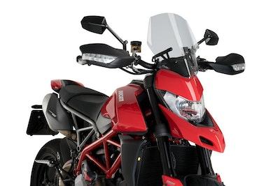 Puig New Generation Sport Screen To Suit Ducati Hypermotard 950/SP/RVE (Smoke)