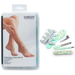 Basic Care 6-Piece Personal Pedicure Kit Foot Care