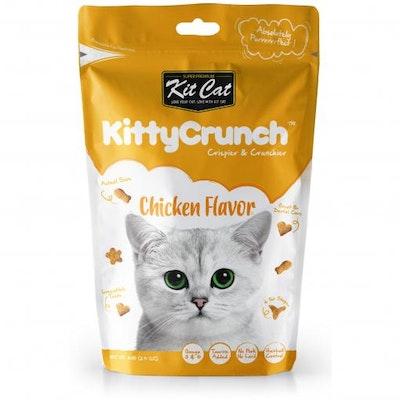 KIT CAT Chicken Kitty Crunch Cat Treats 60G