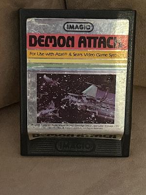 Atari 2600 Demon Attack Cart