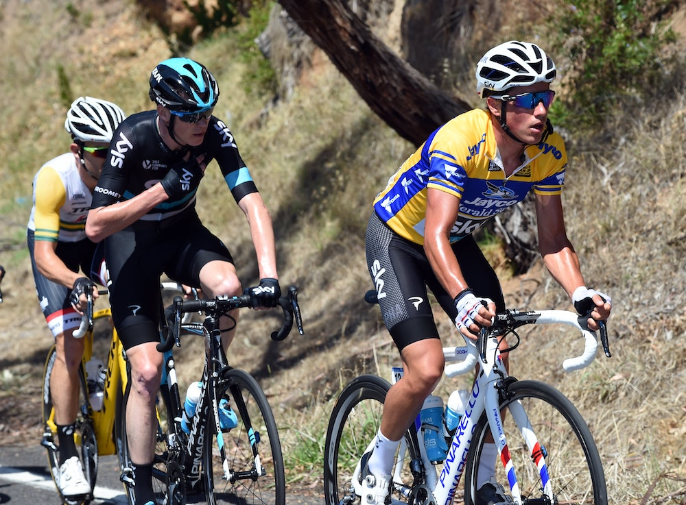 Sun Tour Froome and Kennaugh