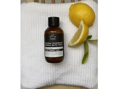 100ml EASE WORK STRESS Natural Magnesium Mineral Bath Tonic