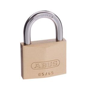 ABUS Brass Padlock 65/45 Keyed Alike