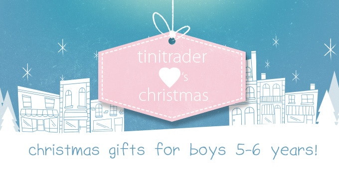 Christmas Gift Ideas for Boys 5-6 years!