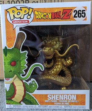Dragon Ball Z - Gold Shenron Pop Vinyl