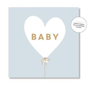 Baby Hearts Balloon (Blue)