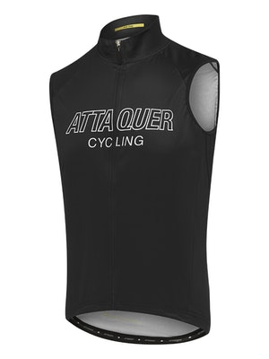 Attaquer All Day Outliner Gilet Black