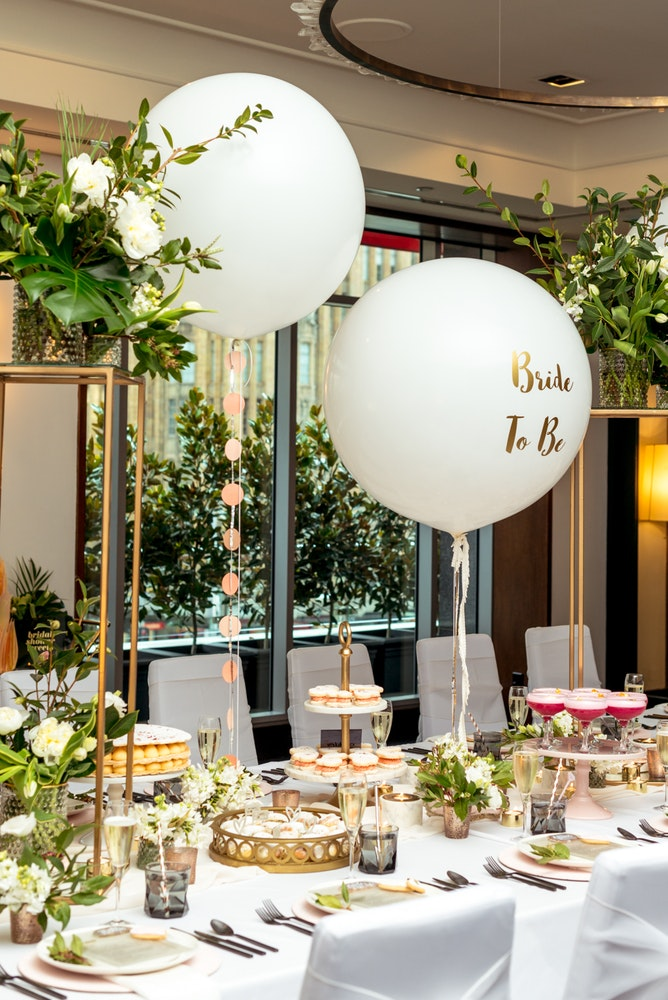 LENZO The Westin Melbourne Bridal Shower Belle Balloons