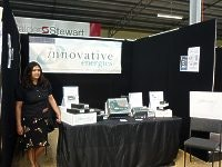 Rochelle on Innovative Energies Expo stand