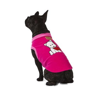 Hamish McBeth Puppy Heart Pink Dog Pyjamas
