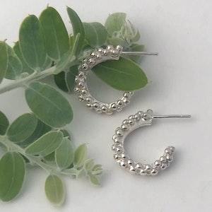 Silver Lining stud earrings