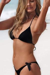 Styelle Swim Mia | Black Eco Bikini Bottom