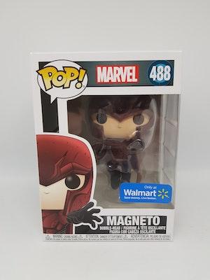 Magneto - Funko Pop! Vinyl Figure Marvel (Walmart Exclusive Sticker) #488 New in Box