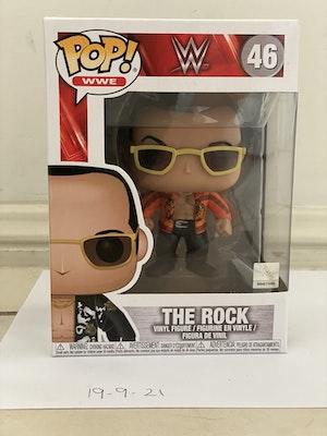 Dwayne The Rock Johnson WWE