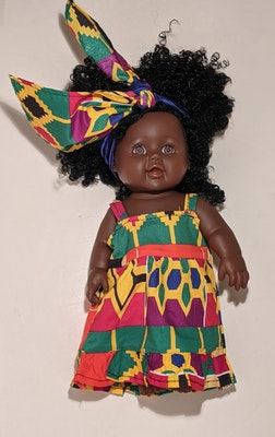 Designed by Florence Aliyah Ima Doll