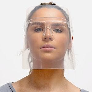 Frame Face Shield plain or printed/ MOQ 1 carton (20pieces)