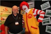 Lord of the Tongs (BBQ) Graham Wallace meets Golden Arches Hamburger King at CRVA Conference