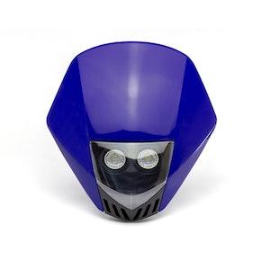 Stealth Supermoto LED Headlight - Blue