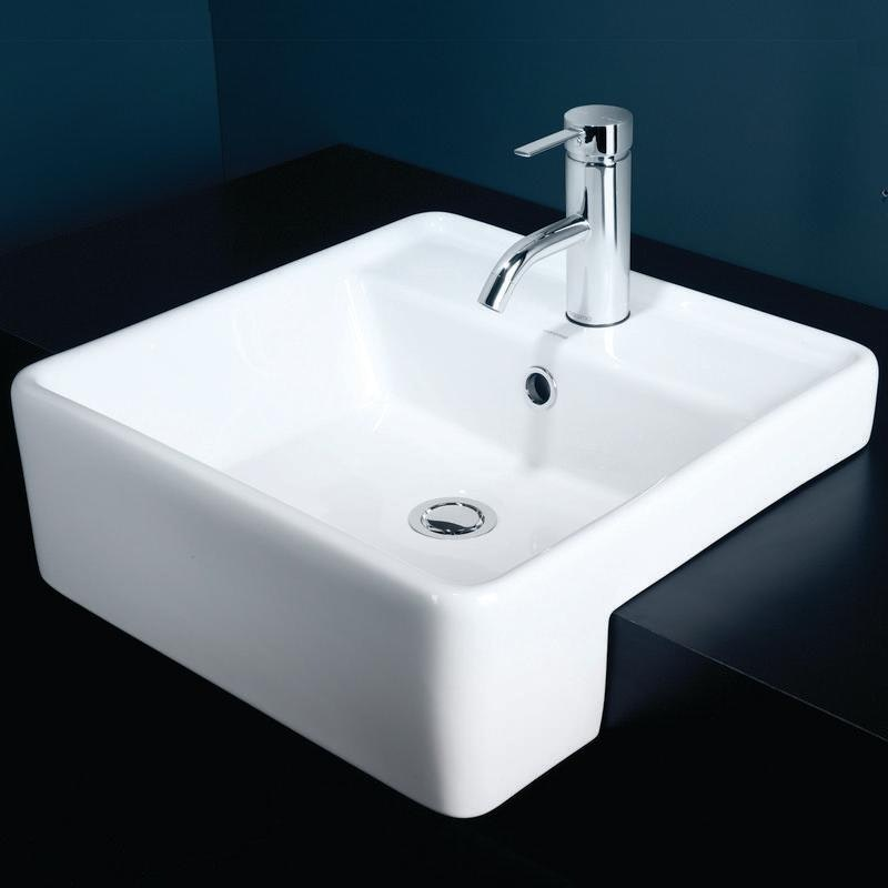 Caroma Carboni Ii Semi Recessed Basin Semi Recessed
