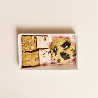 Missy M Sweets Small variety chunky cookie box