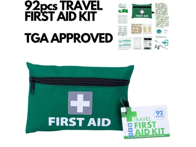 Boutique Medical 92pcs TRAVEL FIRST AID KIT Medical Workplace Set Emergency Family Safety Office