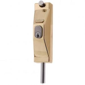 ADI 5004 lockable bolt, polished brass