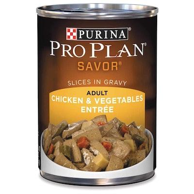 Pro Plan Adult Chicken & Vegetables in Gravy Wet Dog Food 368G