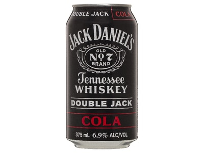 Jack Daniel's Double Jack & Cola Can 375mL
