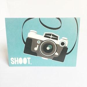"""""""Shoot"""" Camera Card"""