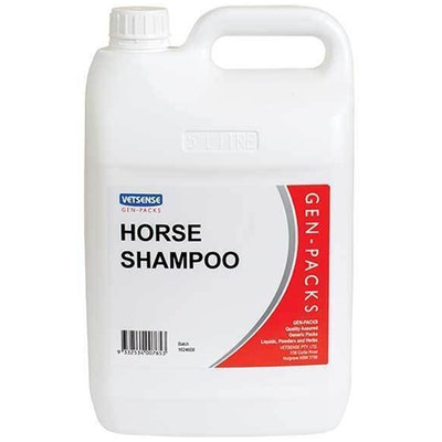 Vetsense Gen Packs Horse High Quality Shampoo with Pleasant Scent - 2 Sizes