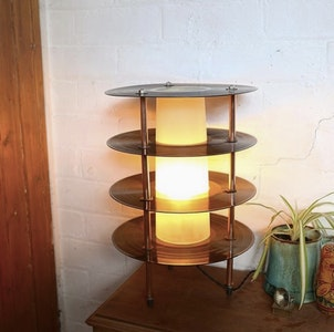 Retro Vinyl Records Mood Lamp