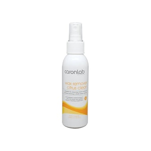 Caronlab Wax Remover Citrus Clean with Mist Spray 125ml Waxing Cleaner Removal