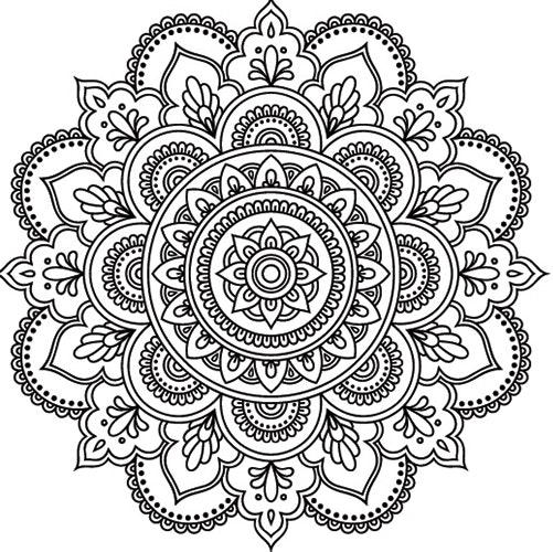 Calming Mandala