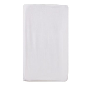 Change Mat Cover Jersey Cotton: WHITE