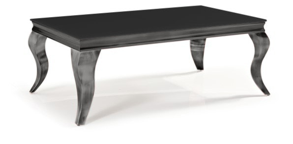 Bt chateau coffee table with black glass top coffee for Outdoor furniture yagoona