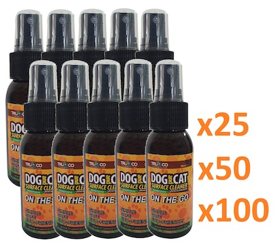 Trueeco CARTON 50ml READY2USE DOG AND CAT SURFACE CLEANER