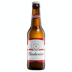 Budweiser Lager Bottle 355mL