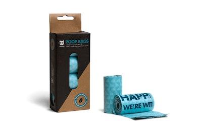 Zee Dog Poop Bag Leak Proof Eco Friendly Refill 4 Pack