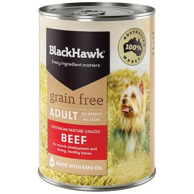 Black Hawk Grain Free All Breed Adult Dog Food Beef - 2 Sizes