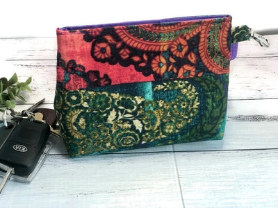 Cedarwood and Ash Handmade Colourful Dog Training Pouch/Belt Snap Bag. Perfect for Dog Training and walks