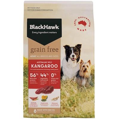 Black Hawk Adult All Breeds Grain Free Dog Food Kangaroo - 3 Sizes