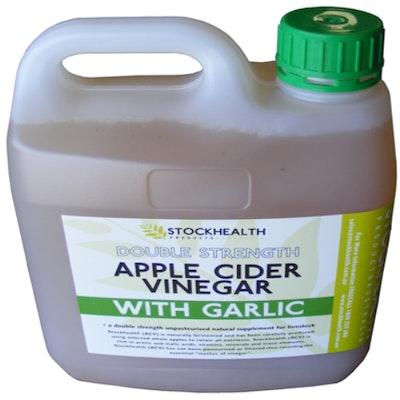 Stockhealth Apple Cider Vinegar with Garlic 2L