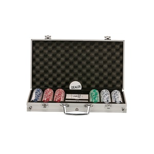 Jenjo Poker Set With Aluminum Case
