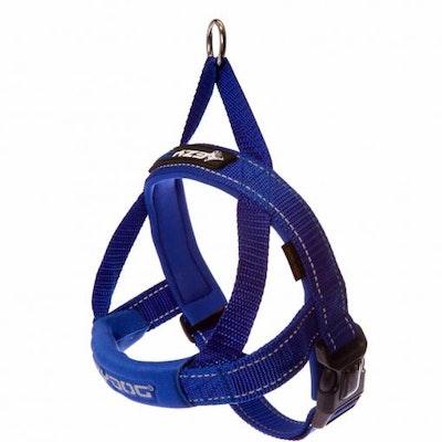 Ezydog Quick Fit Dog Harness Blue Large (67-84cm Girth)